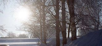 Sun, Winter & Snow in Tartu