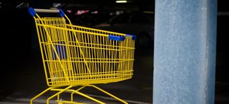 Yellow Shopping Cart